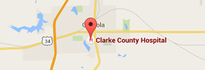 Clarke County Hospital Google Map